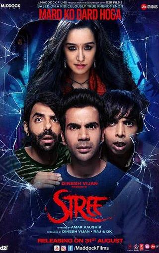 Stree 2018 Hindi 350MB Pre-DVDRip 480p