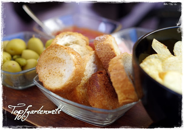 Snacks zu Spriz Aperol