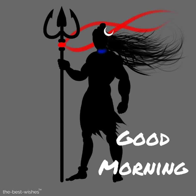 good morning images with god shiva