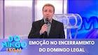 Celso Portiolli presta homenagem emocionante a Gugu | Domingo Legal (24/11/19)