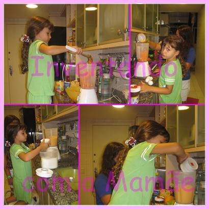 Receita de bolo de cenoura par fazer com crianças