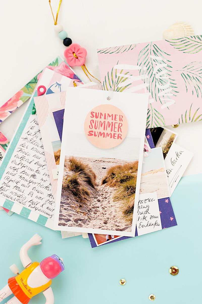 travel mini album by @mojosanti, supplies from @cratepaper