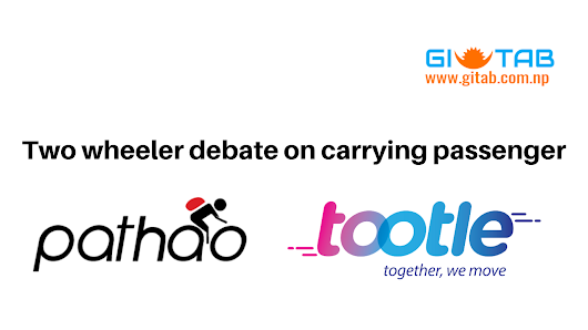 Tootle and Pathao Debate for Public Passenger Transport on Private Bike