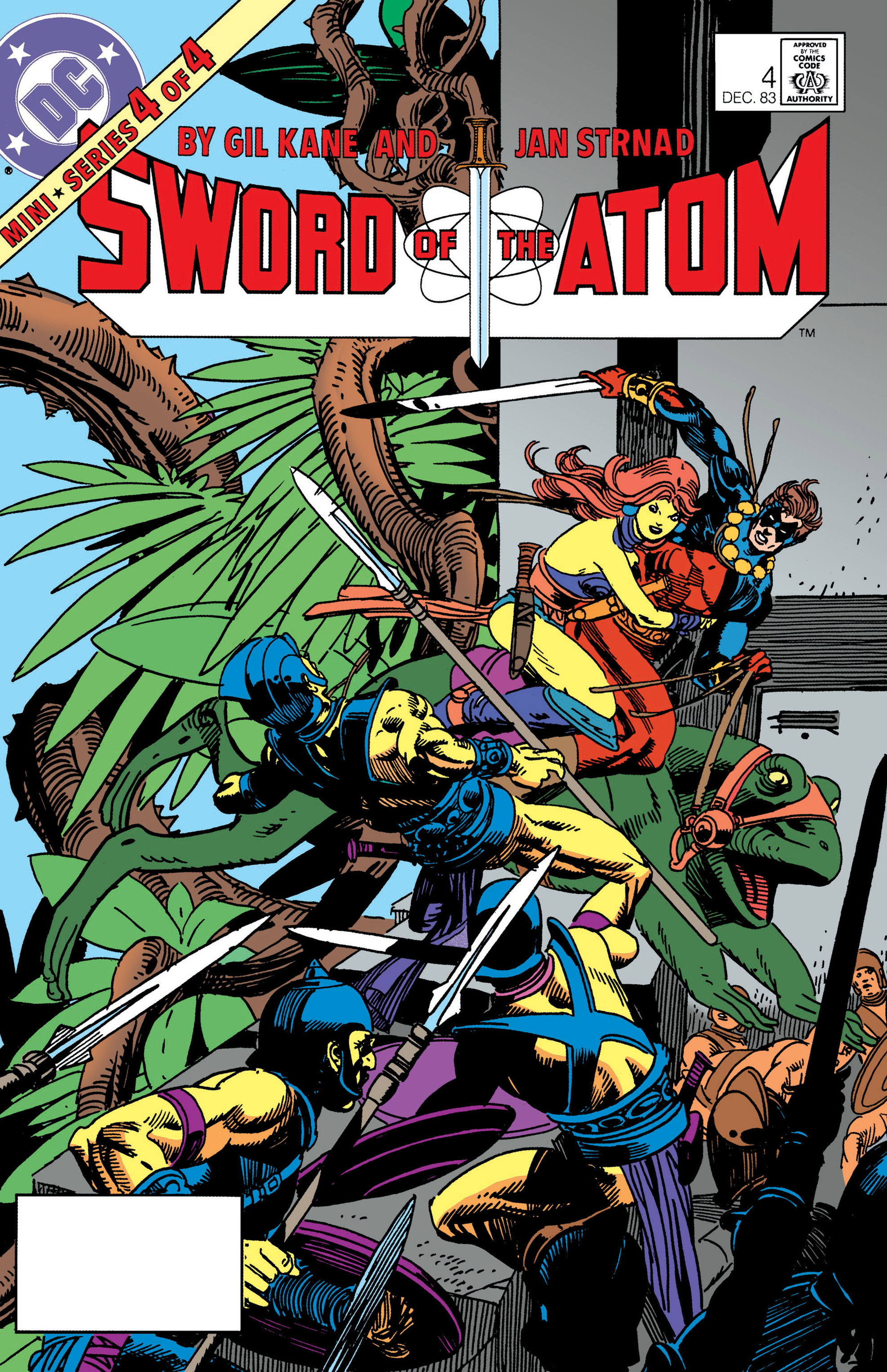 Sword of the Atom (1983) issue 4 - Page 1
