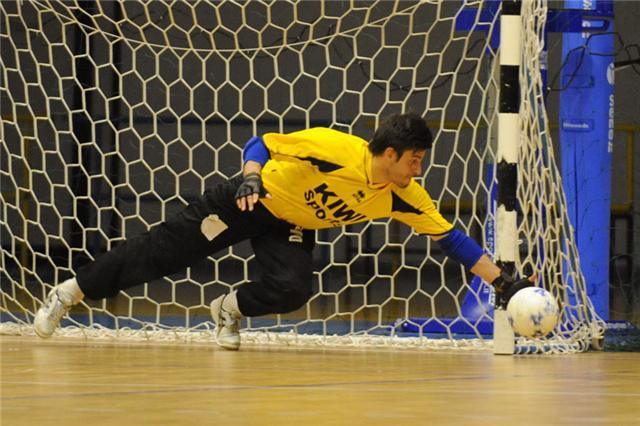 Aspectos para treinamento de Goleiros no Futsal