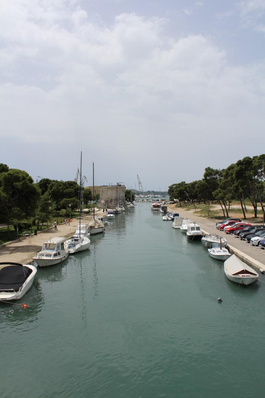 Boats at Trogir