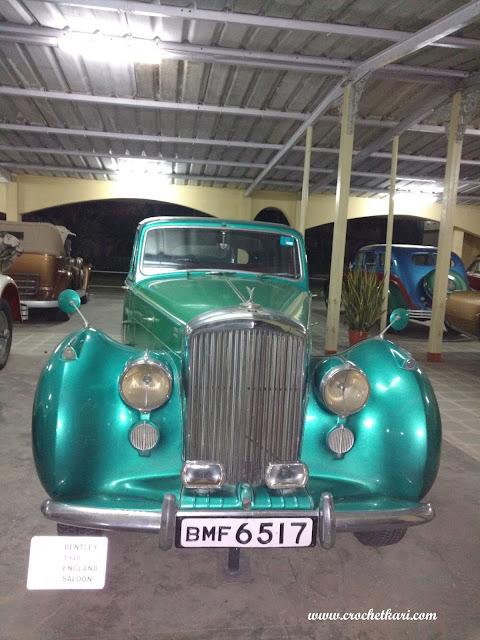 Vintage car museum