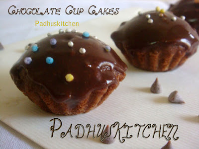 Eggless Chocolate Cupcakes
