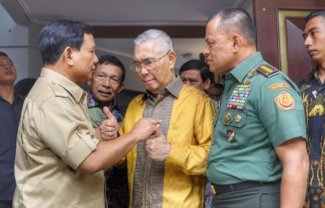 Partai Gerindra, PKS dan PAN Koalisi Diwacanakan Usung Prabowo atau Gatot