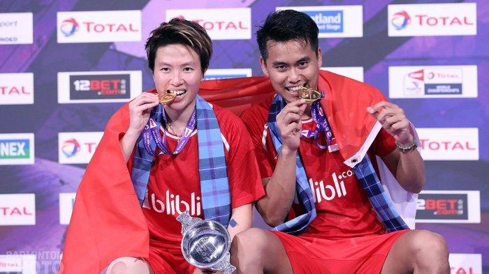 Tontowi Ahmad/Liliyana Natsir Menjadi Juara Dunia!