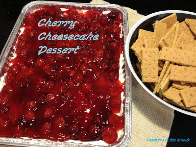 easy cherry cheesecake dessert