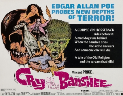 Cry of the Banshee, 1970, folk horror