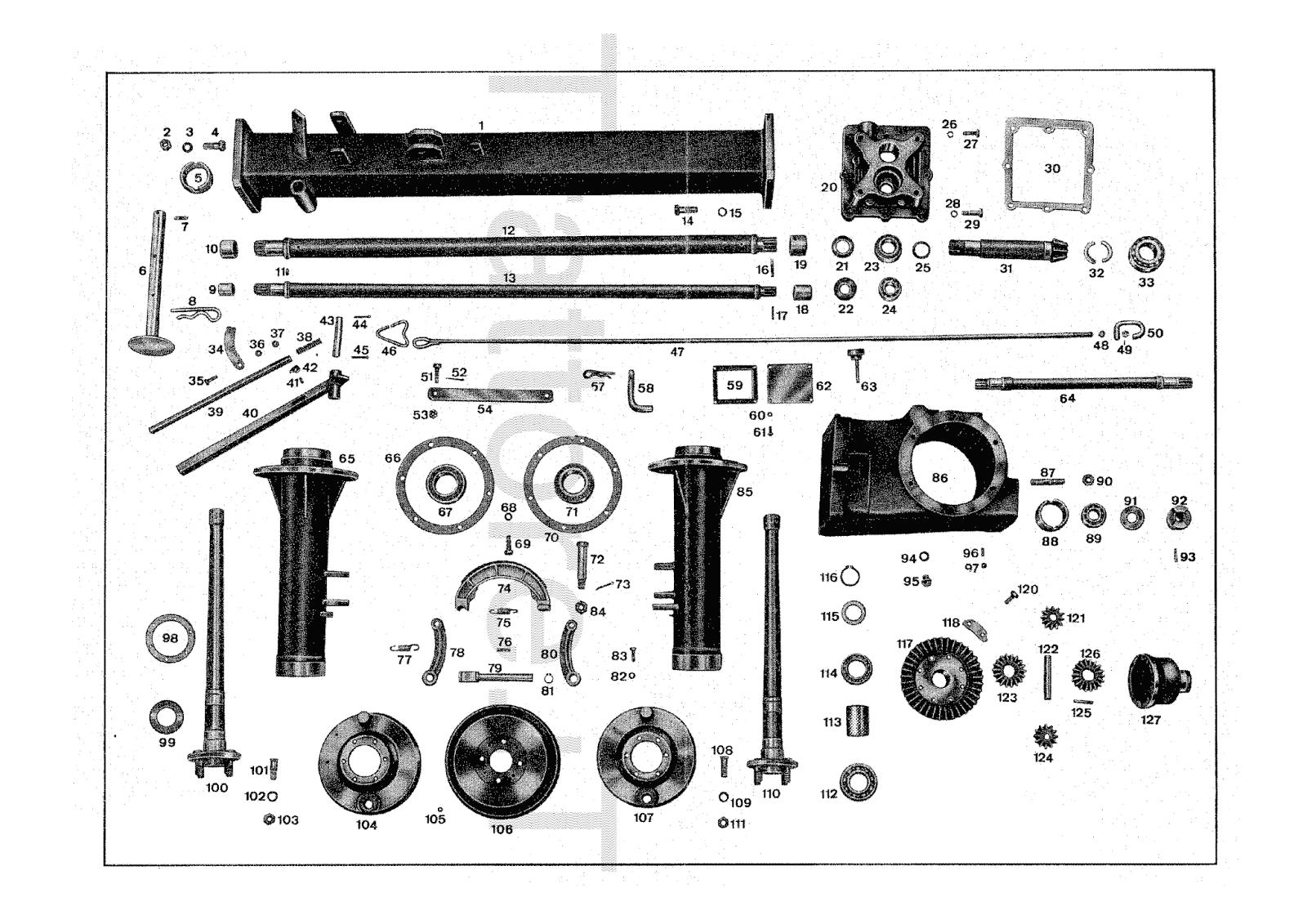 InfoTrattore.it: Carrello motore Pasquali 387 manuale