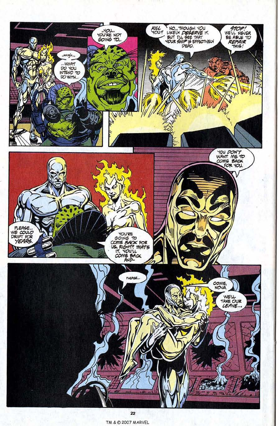Read online Silver Surfer (1987) comic -  Issue #99 - 24