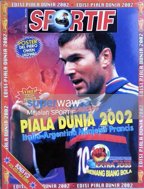 Majalah Sportif - Panduan Piala Dunia 2002