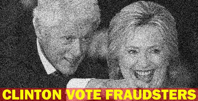 Bill and Hillary Clinton are planning to steal the 2016 election