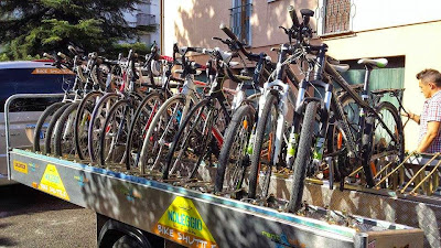 cycling dolomites from cortina to venice by bike rental