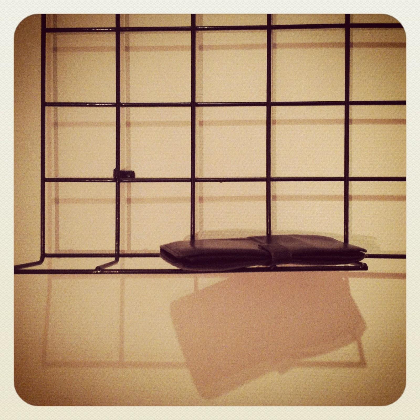 70er jahre gitter metall wandgarderobe verkauft le site. Black Bedroom Furniture Sets. Home Design Ideas