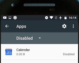 Cara disable aplikasi di Android