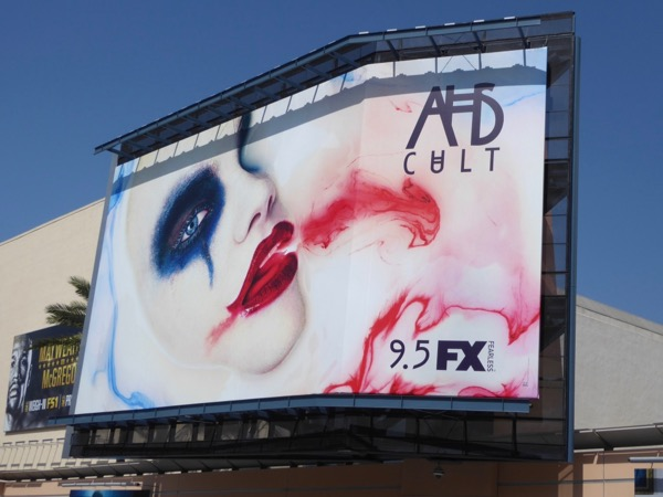 American Horror Story Cult billboard