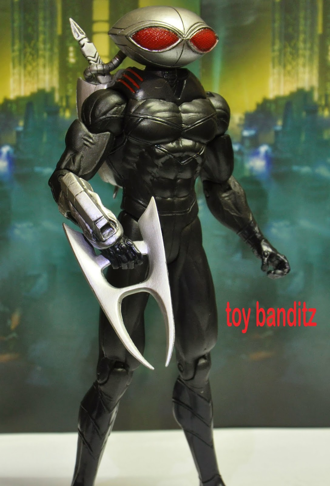 Toy Banditz Black Manta New 52 By Dc Collectibles