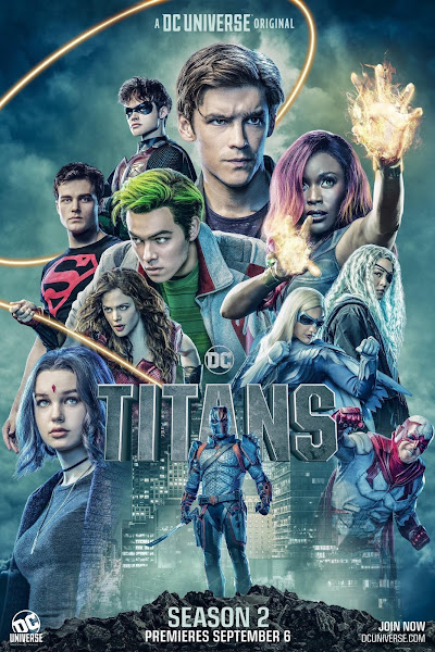 Poster of Titans Season 2 Complete [English-DD5.1] 720p HDRip ESubs Download