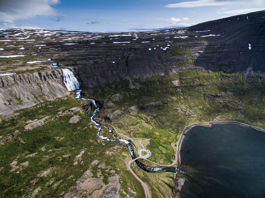 Fjallfoss - 40 Reasons To Visit Iceland With A Drone