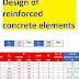 Design of reinforced concrete elements excel sheet
