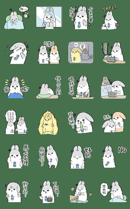 Machiko Rabbit's Work Life