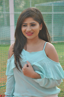 Madhulagna Das looks super cute in White Shorts and Transparent Top 70.JPG