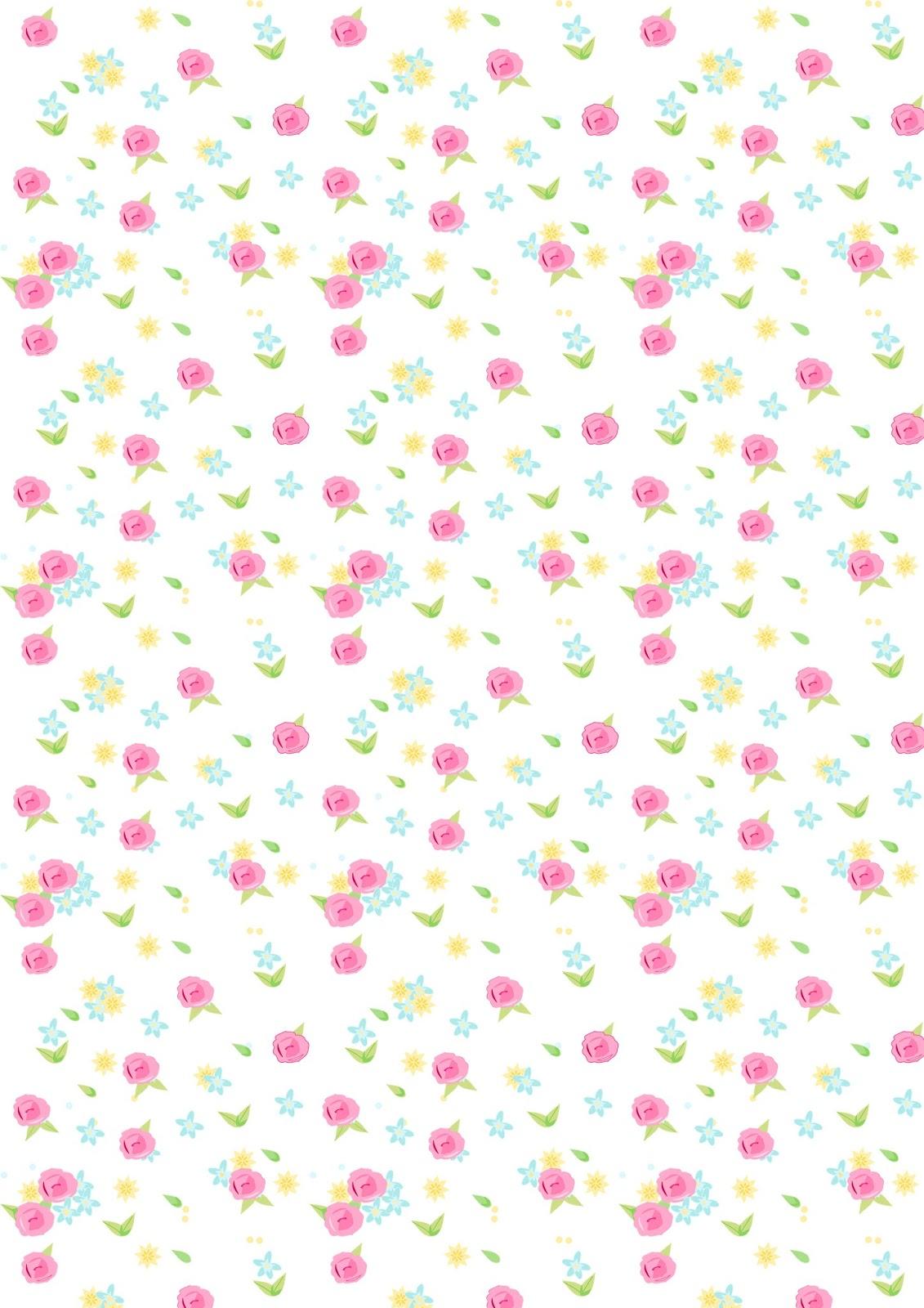 Scrapbook paper examples - Printable Paper Rose Template