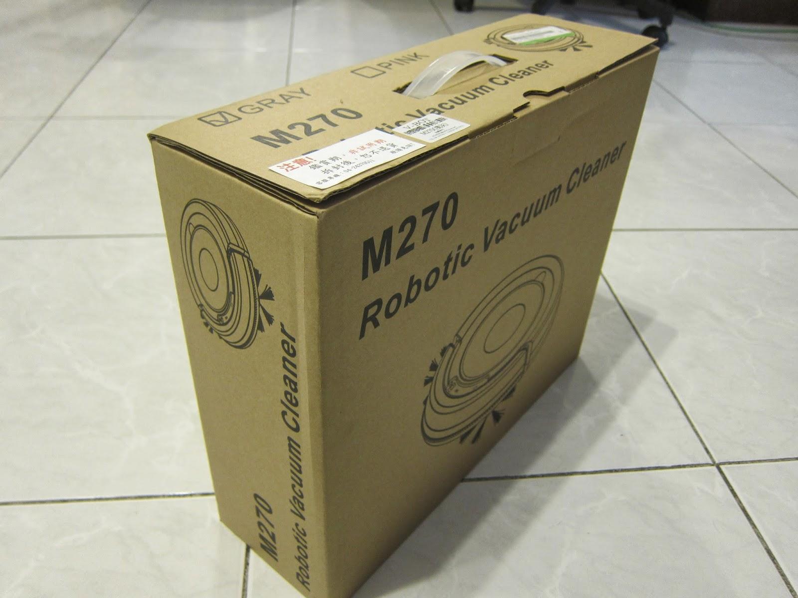 IMG 2244 - [開箱] V-BOT M270 迷你智慧型掃地機器人