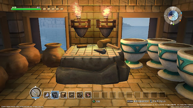 dragonquest builders ツボ工房