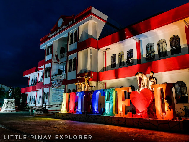 Building, colorful building, arteche, eastern samar