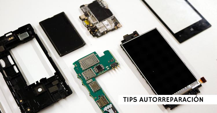 Cómo reparar tu móvil