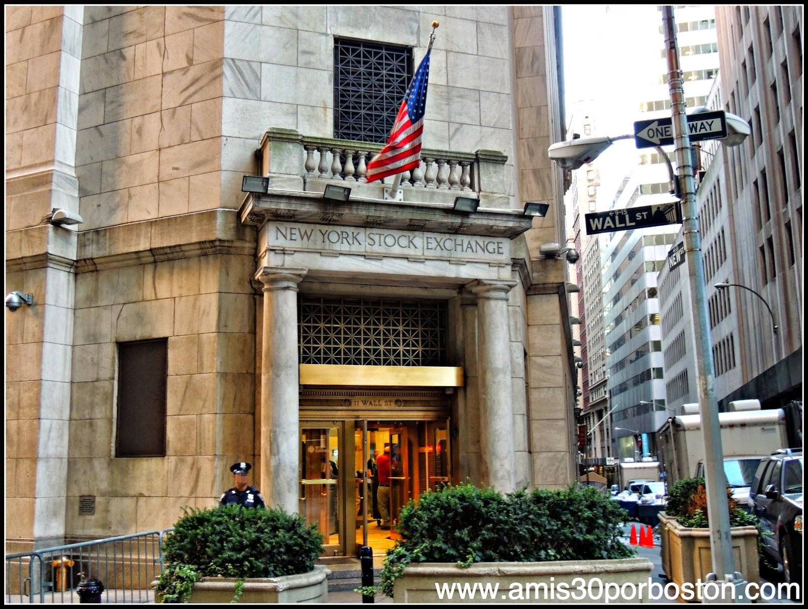 Segunda Visita a Nueva York: La Bolsa