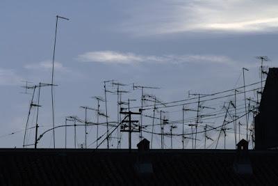 bosque de antenas