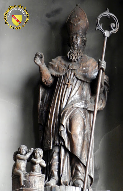 Saint-Nicolas (XVIIIe siècle) - Statue en bois - Église de Mirecourt (88)