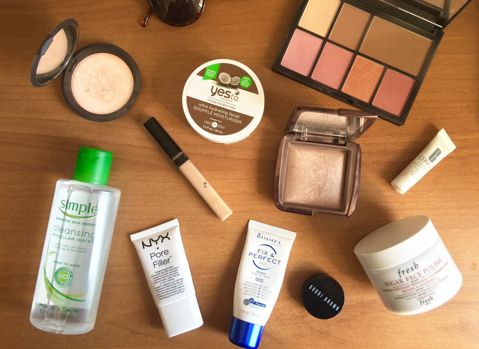 Glowing Spring Skin: makeup & skincare
