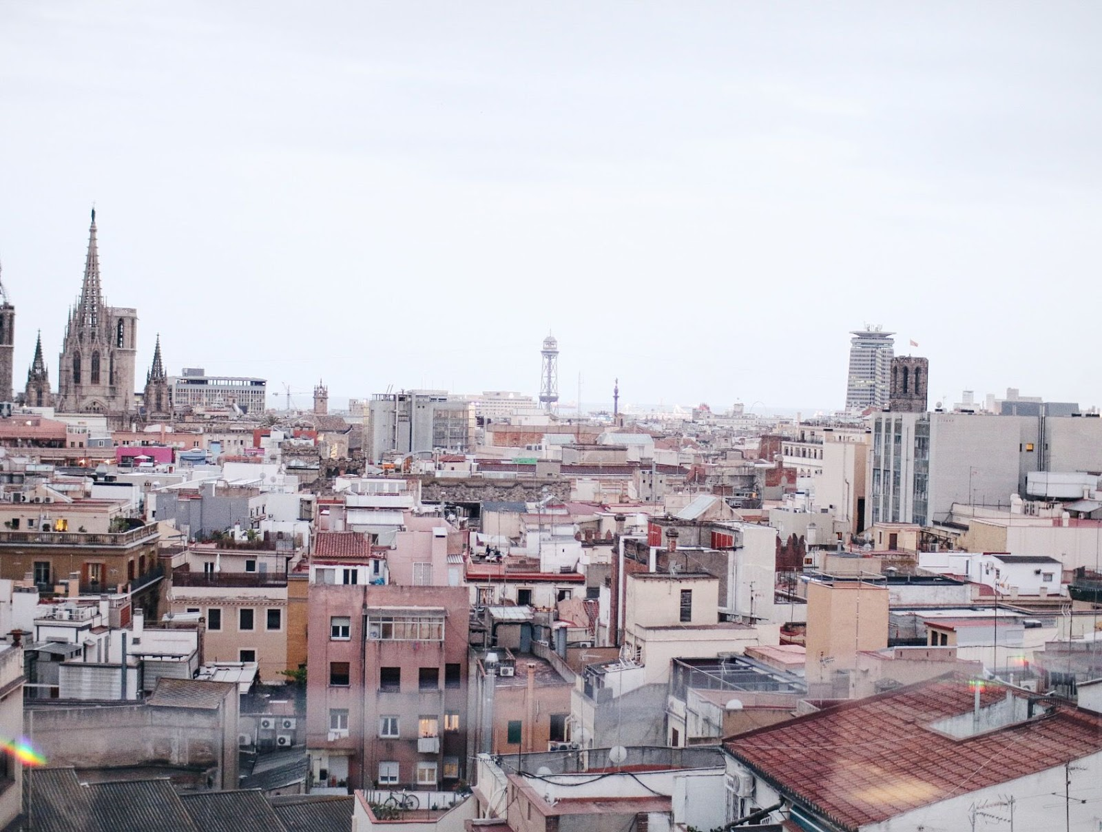 best roof top views in barcelona