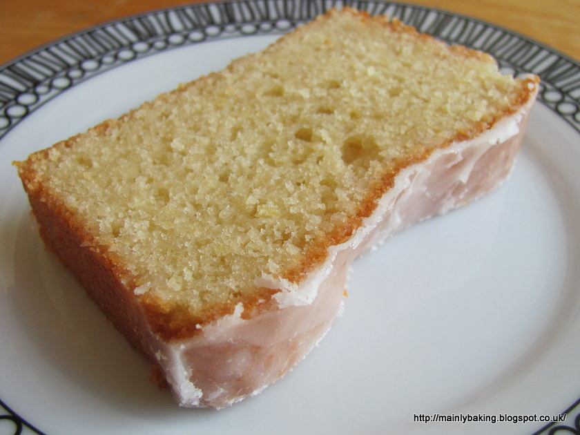 Lavender And Lovage Lemon Drizzle Cake