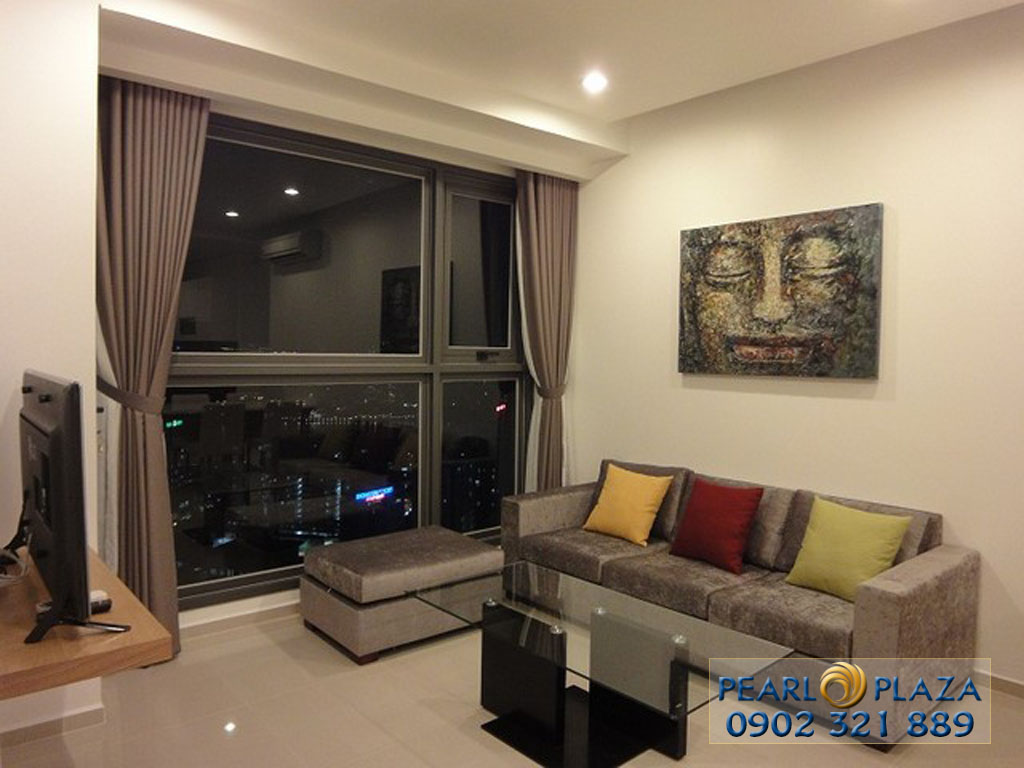 3-bedroom apartment for rent at Pearl Plaza full of beautiful furniture