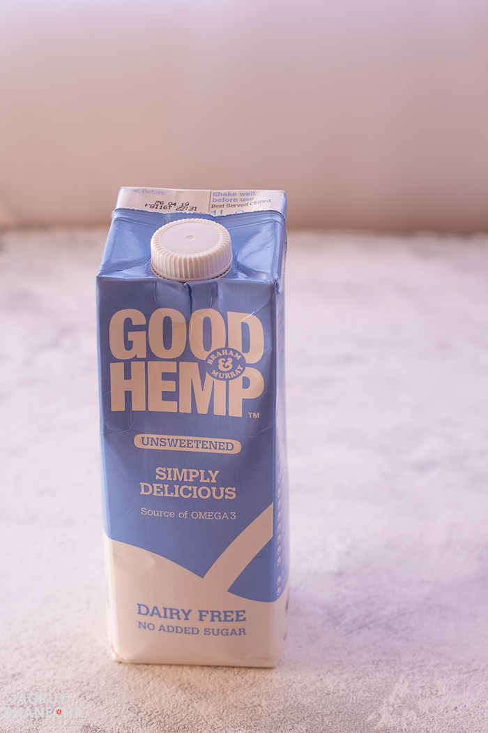 Good hemp non dairy milk unsweetened