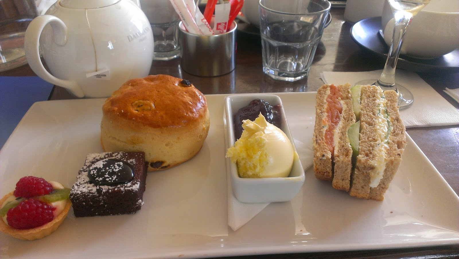 Restaurant Review: Afternoon Tea at 5th View Bar & Food, Piccadilly