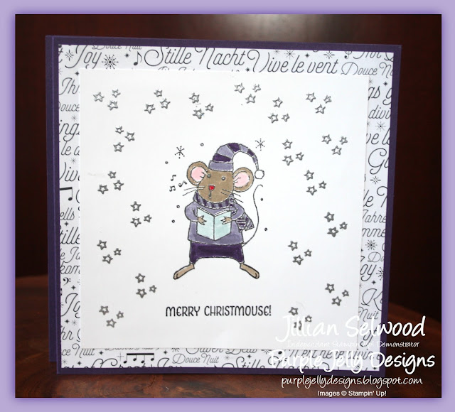 Merry Mice Wiper Christmas Card