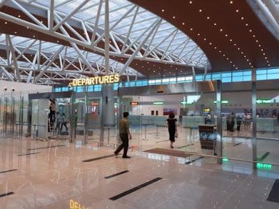 Khu vực nhà ga quốc tế mới tại sân bay Đà Nẵng.