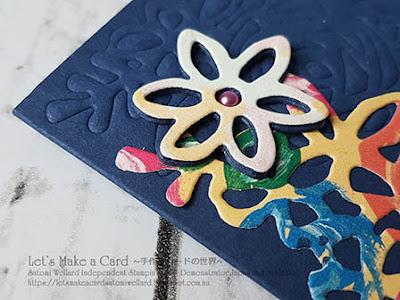 Spring Time Impressions Dies with Embossing Mat Satomi Wellard-Independent Stampin'Up! Demonstrator in Japan and Australia, #su, #stampinup, #cardmaking, #papercrafting, #rubberstamping, #stampinuponlineorder, #craftonlinestore, #papercrafting, #handmadegreetingcard, #greetingcards  #abstactimpressions #thankyoucard #embossingmat #スタンピン #スタンピンアップ #スタンピンアップ公認デモンストレーター #ウェラード里美 #手作りカード #スタンプ #カードメーキング #ペーパークラフト #スクラップブッキング #ハンドメイド #オンラインクラス #スタンピンアップオンラインオーダー #スタンピンアップオンラインショップ #動画 #サンキューカード #アブストラクトインプレッションズ