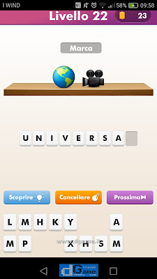 Emoji Quiz soluzione livello 22