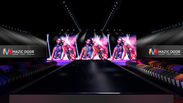 MazicDoor Fashion Show Stage Design 4