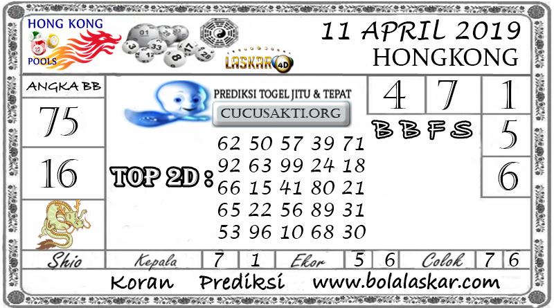 Prediksi Togel HONGKONG LASKAR4D 11 APRIL 2019